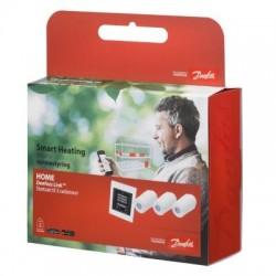 Danfoss Link Home startsæt - Pakke m/3 stk termostater og Link styring