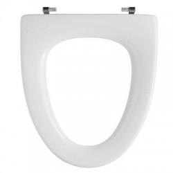 Pressalit 195 Cera / Ceranova toiletsæde - Hvid - uden låg
