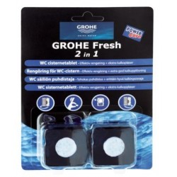 Grohe Fresh Tabs 2i1 - 2 stk. wc-tabletter
