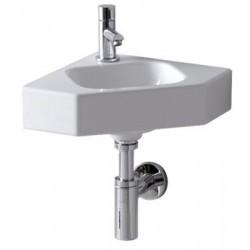 IFØ Icon hjørnehåndvask 33X33cm hvid til bolte