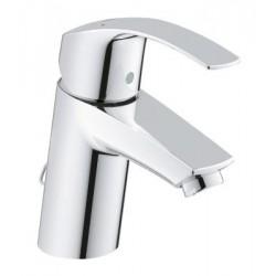 Grohe Eurosmart håndvaskbatteri, krom, m/kæde