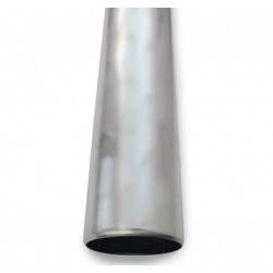 75 x 3000 mm Nedløbsrør Zink Plastmo