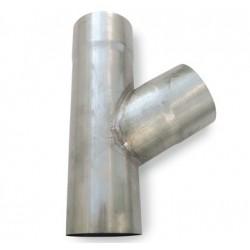 75 mm x 60° Grenrør Zink Plastmo