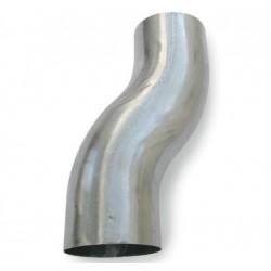 75 mm Nedførsel Zink Plastmo
