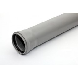 HTP rør m/1 muffe 110-1000mm,