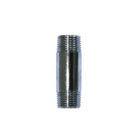 "Forkromet nippelrør - 1/2"" - 50 mm"