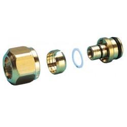 """Altech omløbersæt 3/4"""" x 16 mm til gulvvarme fordelerrør For alupex samt pexrør"""