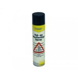 Vej- og markeringsspray gul 600 ml, Kema 13636, MSDS/120504 UN1950