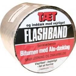 Flashband alu asfaltstrimmel 10m x 150mm