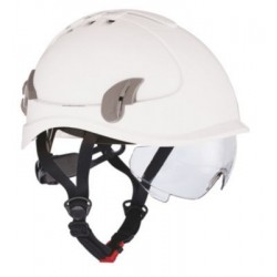 Hjelm Alpinworker hvid