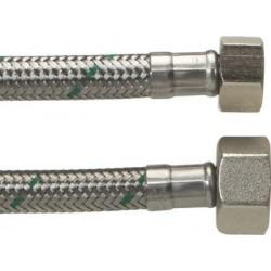 """Neoperl Softpex tilslutningsslange. 300 mm - 1/2"""" x 3/8"""" Rustfri flet."""