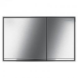 Geberit Sigma 60 betjeningsplade - 2-skyls - Krom/børstet stål