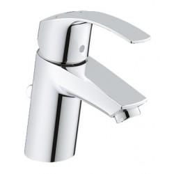 Grohe Eurosmart håndvaskarmatur, krom, M/kæde & koldstart