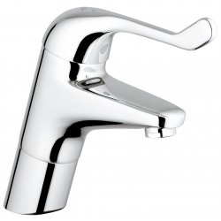 Grohe Euroeco Single Sequential Etgrebs-sikkerhedsbatteri til håndvask