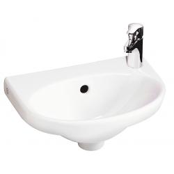 Gustavsberg Nautic 5540 håndvask ceramicPlus 40x27,5 cm Venstre
