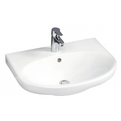 Gustavsberg Nautic 5565 håndvask 65x50 cm ceramicPlus