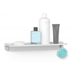 Fantastisk Køb Hefe GLIDE hylde til badet - lysegrå aluminium - Vare nr WA49