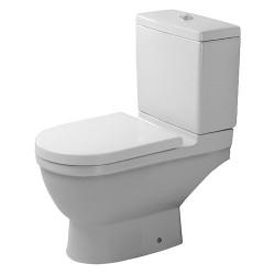 Duravit Starck 3 toilet med p-lås, wondergliss