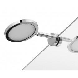 Hefe Majorca LED lampe til spejl uden ramme