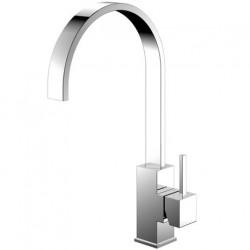 Nivito Reflected køkkenarmatur - Blankt stål - C-tud