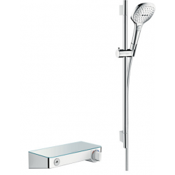 Hansgrohe HG ShowerTablet 300 Combi 65cm hvid/krom