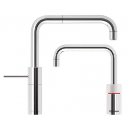 Quooker Nordic Square Twintaps Krom - PRO3-VAQ