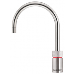 Quooker Nordic Round Rustfrit Stål - COMBI