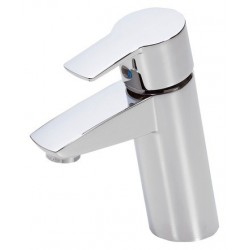 Oras Cubista håndvaskarmatur med løft-op ventil
