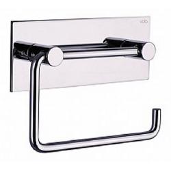 Vola T12 toiletrulleholder, Hvid med bagplade
