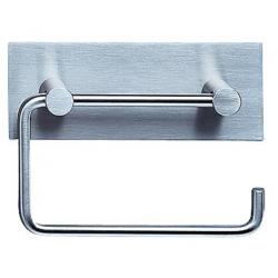 Vola T12 toiletrulleholder, Rustfri med bagplade