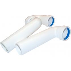 PP universal vandlås, Ø50 mm, hvid.