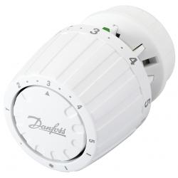 * Danfoss radiatortermostat med snap kobling - fast føler.