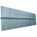 SG varmefordelingsplade Ø16 mm. 180x1000 mm