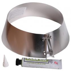 Metalbestos Multi50 150mm loftkrave, sort med 75ml. silicone