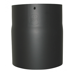 130mm længde 150mm x 2 mm Metalbestos Sorte røgrør