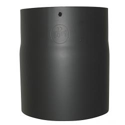150mm længde 150mm x 2 mm Metalbestos Sorte røgrør