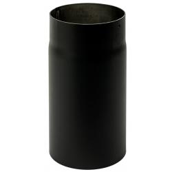 180mm længde 150mm x 2 mm Metalbestos Sorte røgrør