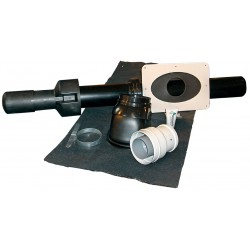 Milton lodret balanceret aftræk 60/100 mm