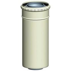 rør til gaskedel 450 mm, Ø60/100