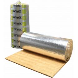 Isover alu-folie Lamelmåtte 50mm, 1200x5000mm - 6 m2 pr. pakke