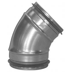 200 mm Bøjning ventilation presset BL 45°