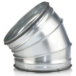125 mm Bøjning ventilation presset BL 30°