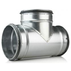 400 x 400 x 400 mm T-rør ventilation TCPL