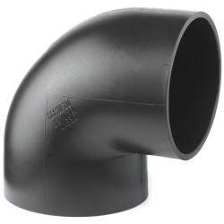 Geberit PE-HD afløbsbøjning 88,5° 110 mm