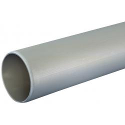 Nicoll HTP afløbsrør med glat ende Ø75, 3000 mm, grå.