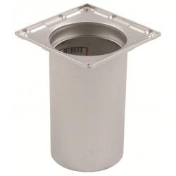 Blücher rammeskål overdel 145x145 mm. Til beton & fliser.