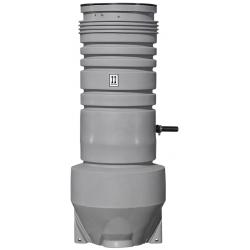 Grundfos pumpebrønd 400x2000mm, 1x230V, AP35B.50.06.A1, til gråt spildevand