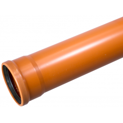 Wavin PVC kloakrør 110x2000mm