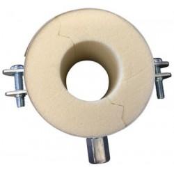 Isoglobal rørbærer vvs 25x20 mm. M8/M10 inkl. Galv. Bøjle og isolering.