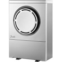 Danfoss DHP-AQ 6 kW Luft/vand varmepumpe inkl.understel og el-opvarmet drypbakke